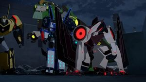Grimlock, Boostwing and Bumblebee