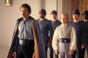 Lando welcomes