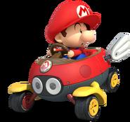 Mario Kart 8-Baby Mario
