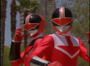 Quantum Ranger and Time Force Red