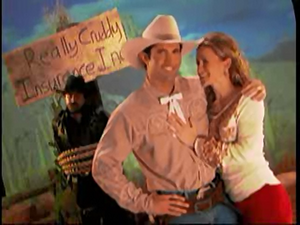 Eastwood Insurance Cowboy saves the day