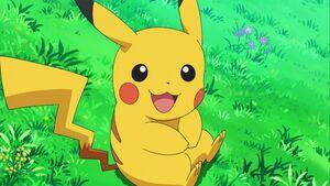 Pikachu big smile