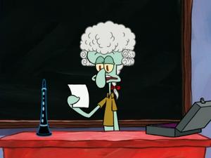 Professor Squidward 106