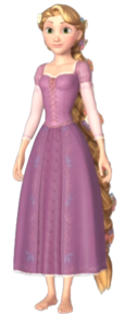 Rapunzel (Braided Hair) KHIII
