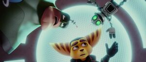 Ratchet, Clank and Qwark Saved.