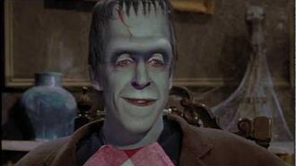 The Munsters - Herman Munster's Wisdom (in COLOR) - POP-COLORTURE.com-1