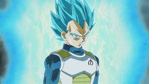 Vegeta Super Saiyain Blue