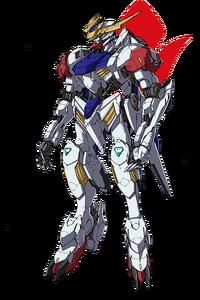 ASW-G-08 Gundam Barbatos Lupus (Front)