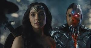 Diana and Cyborg