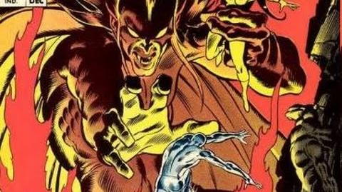 Greatest Battles in Comics Silver Surfer vs Mephisto