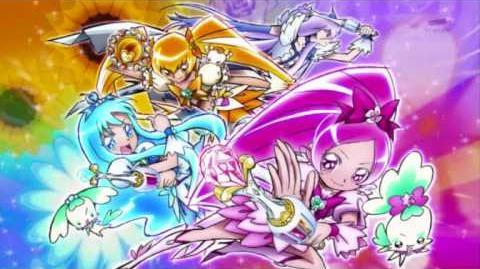 Heartcatch Pretty Cure Vocal Album Track 4 OPEN THE WORLD