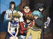 Jaden, Alexis, Chazz, Chumley, Syrus, Banner and Bastion (Ep. 37)