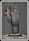 Lucia's Cards, The Hermit
