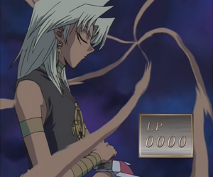 Marik kills his evil personality Dark Marik