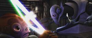 Nahdar duels Grievous