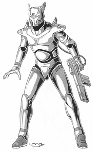 Rifts - CAF Battle Armor (Rifts Dimension Book, Phase World)