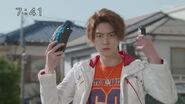 Shijima Go in Shuriken Sentai Ninninger vs Kamen Rider Drive