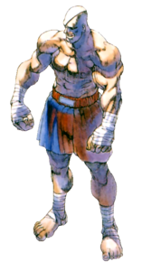 Street Fighter - Sagat as seen in the first Street Fighter