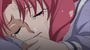 Towa crying