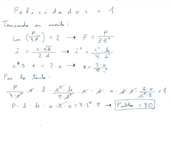 Equación