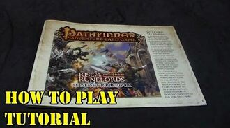 Pathfinder Adventure Card Game Tutorial