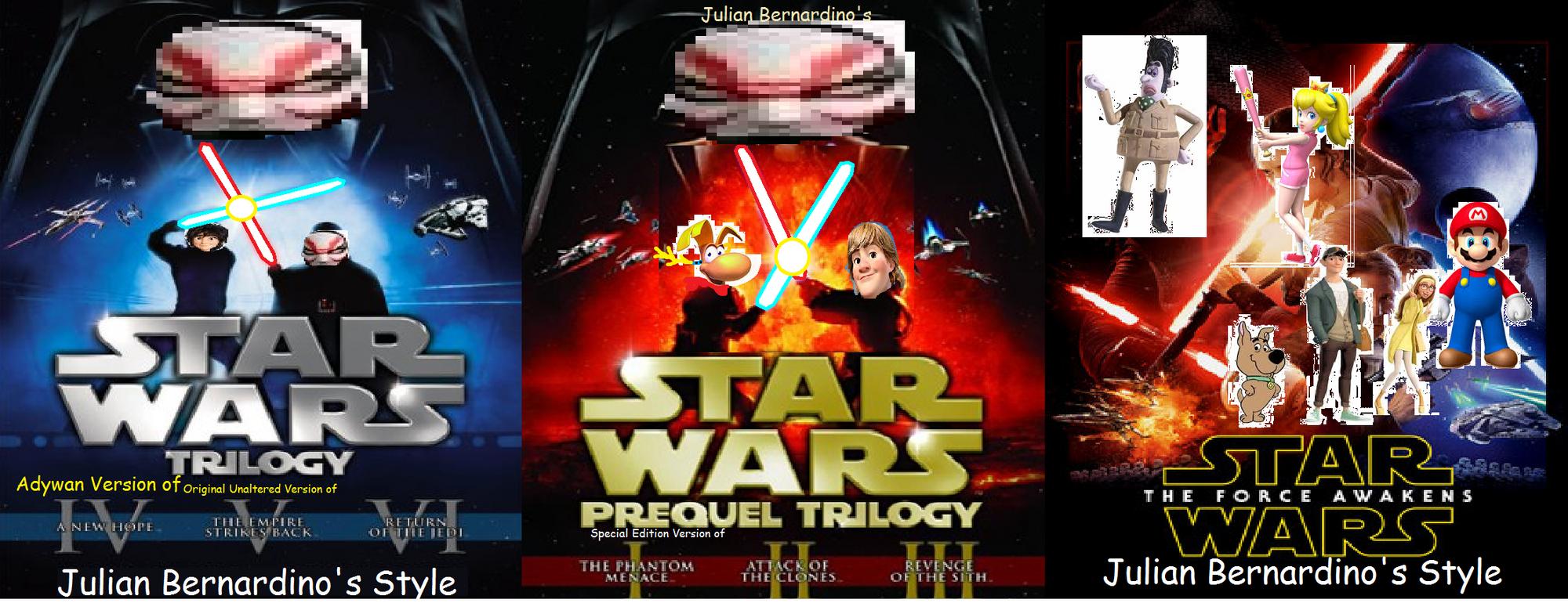 Star Wars (Julian14bernardino Style) | Pachirapong Wiki