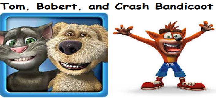 Digeri Dingo: Tom, Ben And Crash Bandicoot