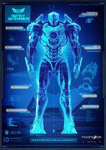 Gipsy Avenger Blueprint Pacific Rim 2 Uprising