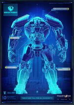 Bracer Phoenix Blueprint Pacific Rim 2 Uprising