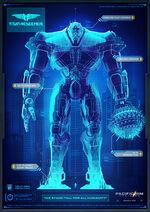 Titan Redeemer Blueprint Pacific Rim Uprising