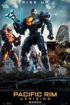 Pacific Rim 2 Uprising Poster 2018 Film