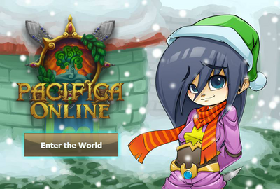 Pacifica Online - Login Screen - Christmas 2013 Bandit