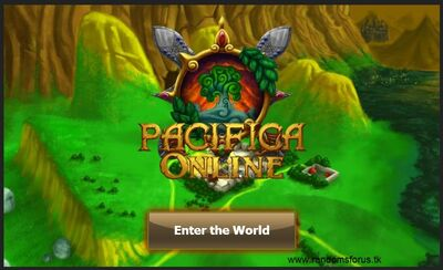 Pacifica Online-Old Entrance Screen