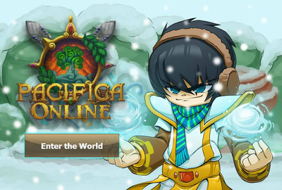 Pacifica Online - Login Screen - Christmas 2013 Cleric