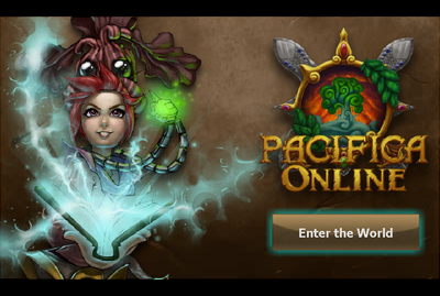 Pacifica Online-Log-in Screen Black