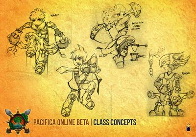 Pacifica Online-Class Concept Art