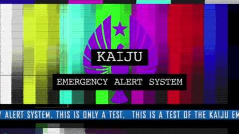 Test of the Kaiju Emergency Alert System