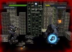 Striker Eureka vs Leatherback (Pacific Rim Kaiju Battle)