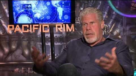 Ron Perlman Interview - Pacific Rim (2013)