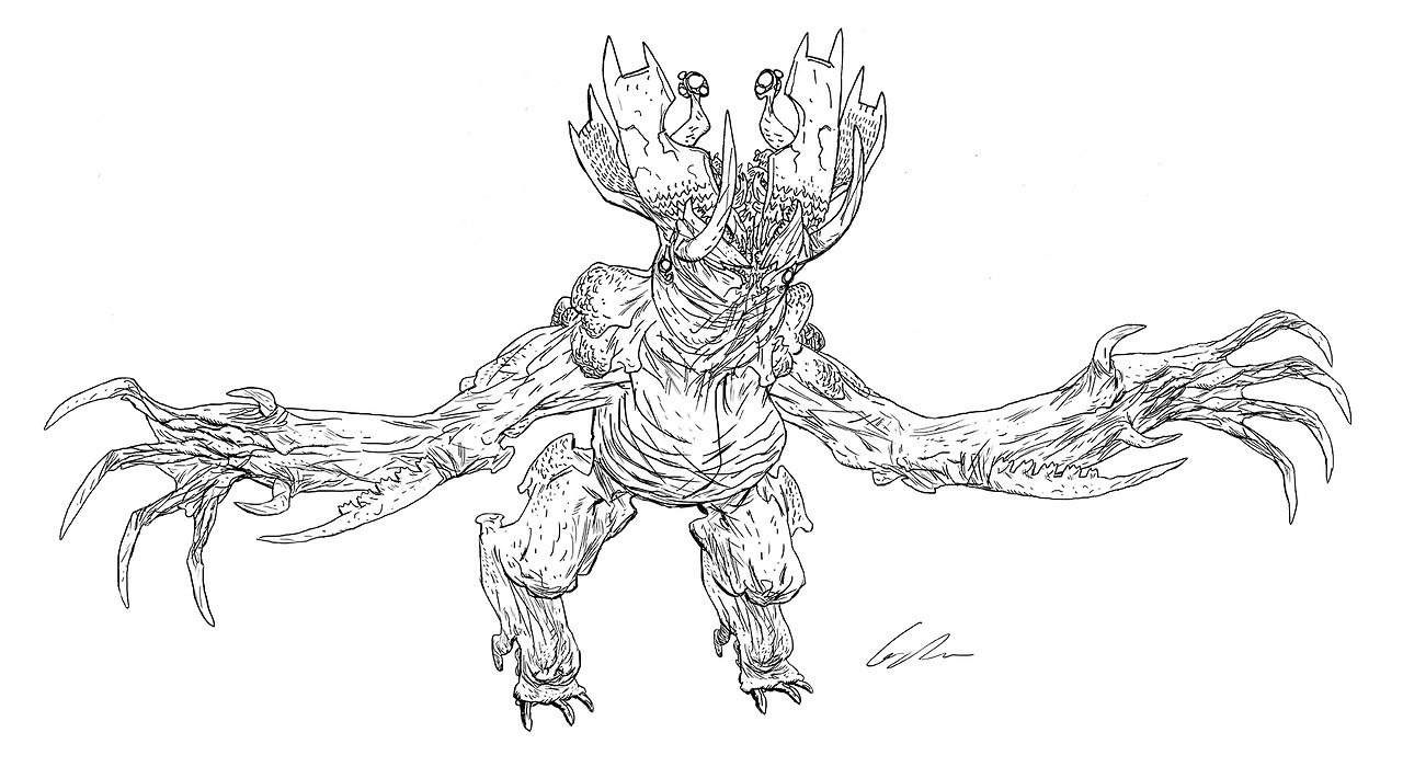 Image - Kaiju Concept Art 09.jpg | Pacific Rim Wiki | FANDOM powered ...