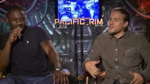 Idris Elba & Charlie Hunnam Interview - Pacific Rim