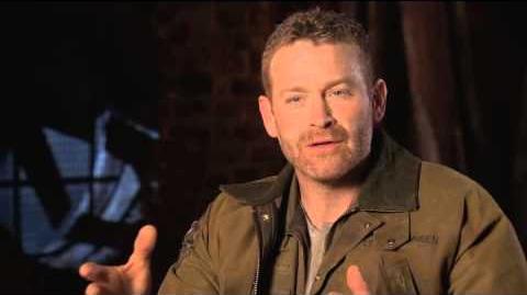 Pacific Rim Max Martini Interview - Idris Elba, Charlie Hunnam, Guillermo del Toro (2013)
