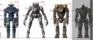 Jaeger to Jaeger scale