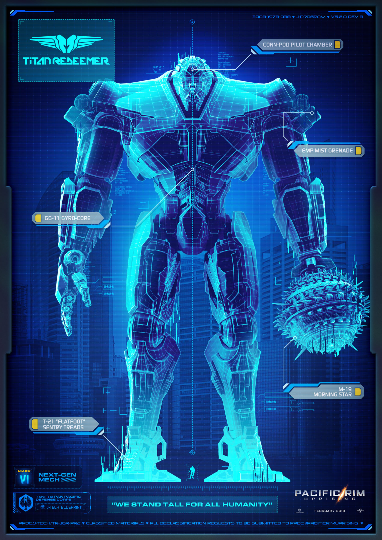 Titan Redeemer | Pacific Rim Wiki | FANDOM powered by Wikia Pacific Rim Blueprints