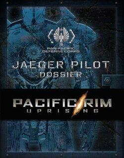 Pacific Rim Uprising PPDC Jaeger Pilot Dossier