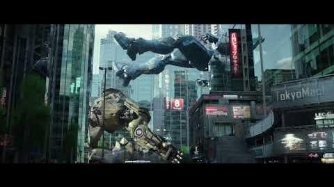 PACIFIC RIM UPRISING - The Kaiju Take Down Several Jaegers In Tokyo Clip