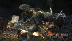 Mutavore in Pacific Rim The Video Game