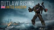 033. Outlaw Rising - United Kingdom
