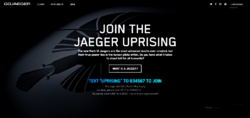 Gojaeger front page