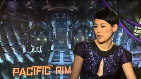 Rinko Kikuchi Interview - Pacific Rim